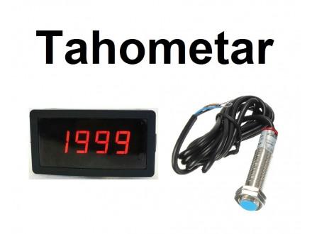 Tahometar - Merac broja obrtaja RPM
