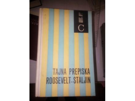 Tajna prepiska Roosevelt-Staljin
