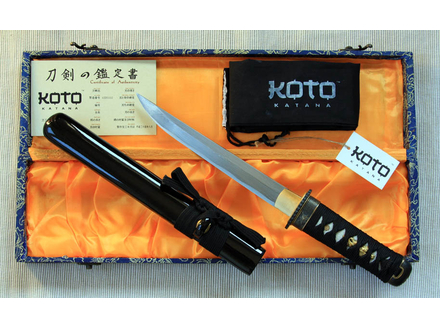 Tanto damaskus tanto nož - 1065 čelik
