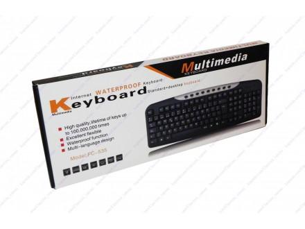 Tastatura multimedijalna + BESPL DOST. ZA 3 ART.
