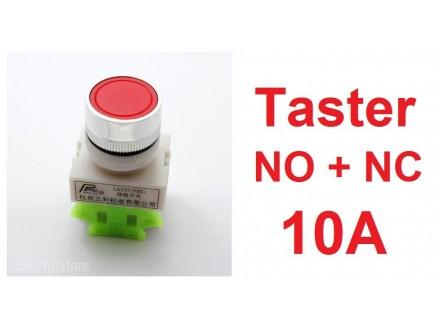 Taster - Crveni - 22mm - STOP taster - NO+NC