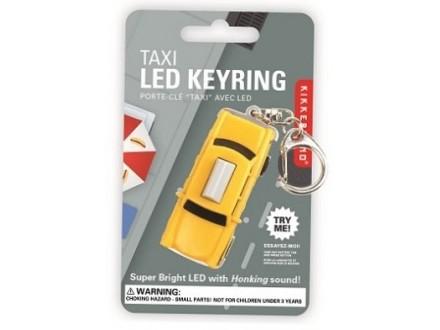 Taxi Led Keychain - Kikkerland