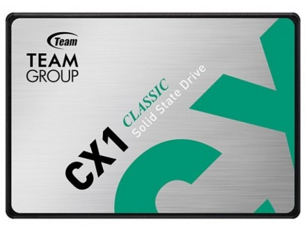 TeamGroup 2.5` 240GB SSD SATA3 CX1 7mm 520/430 MB/s T253X5240G0C101