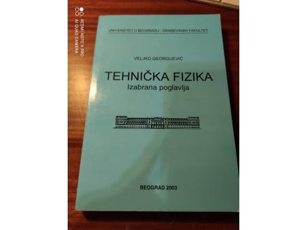 Tehnička fizika Veljko Georgijević izabrana poglavlja