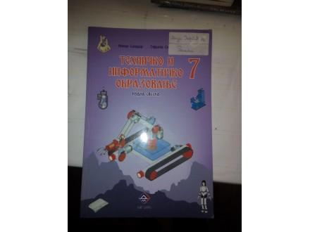 Tehničko i informatičko obrazovanje 7 radna sveska; Aut