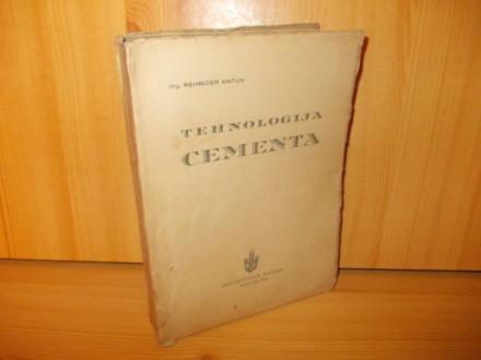 Tehnologija cementa - ing.R.Antun
