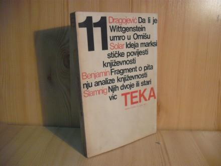 Tekstovi kritika TEKA, br. 11/1975.