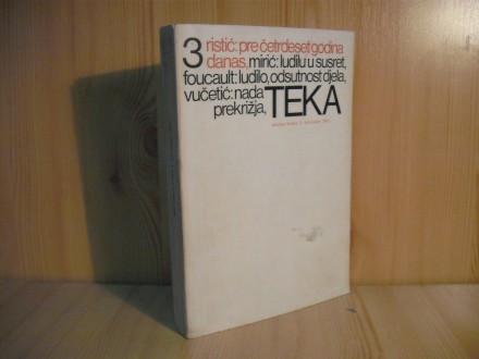 Tekstovi kritika TEKA, br. 3/1973.