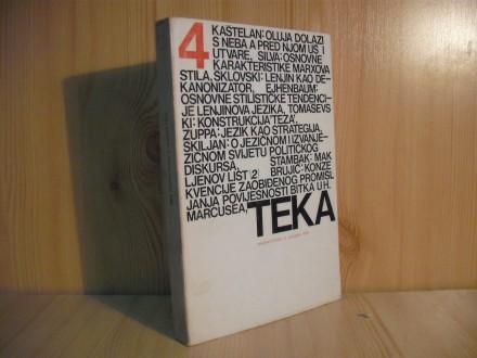 Tekstovi kritika TEKA, br.4/1974.
