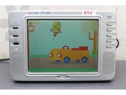 """Televizor JGC LCD 8"""" /  12V / AV-in 3848"""