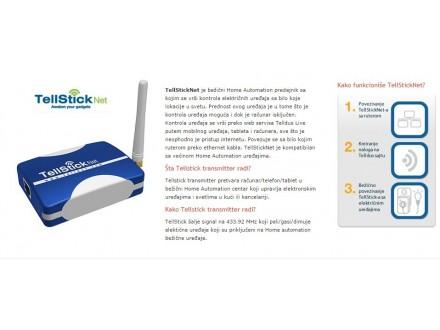 TellStickNet Home Automation predajnik
