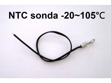 Temperaturna sonda 105℃ - NTC - sa stopicom