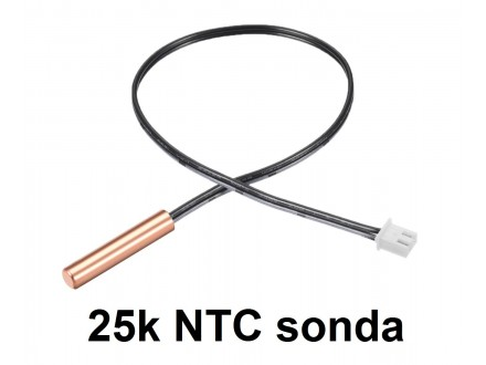 Temperaturna sonda 110℃ - NTC - 0.4m - 25k oma