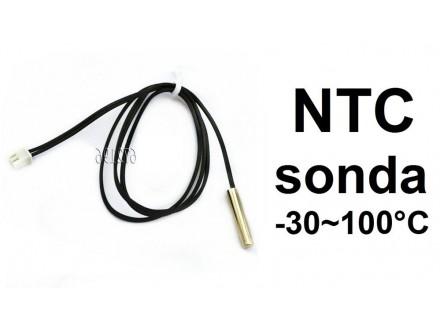 Temperaturna sonda -30-100℃- NTC - 0.5m 20k