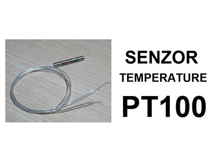 Temperaturna sonda 450℃ - PT100 - vodootporna