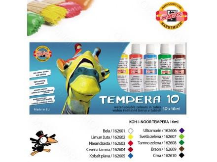Tempere Koh-I-Noor 10x16ml 1625S1001KS - Novo