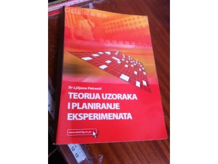 Teorija i planiranje eksperimenata Ljiljana Petrović