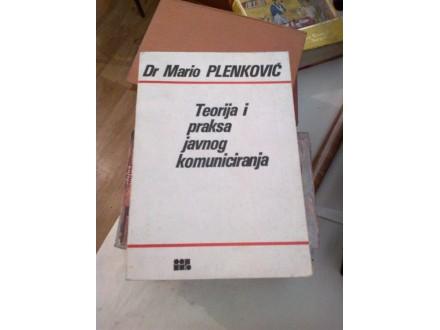 Teorija i praksa javnog komuniciranja - Plenković