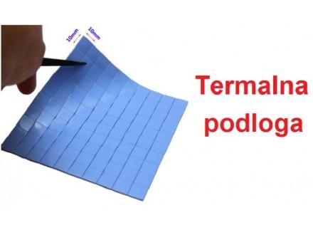 Termalna traka - Thermal Pad 10x10x0.5mm - 100kom