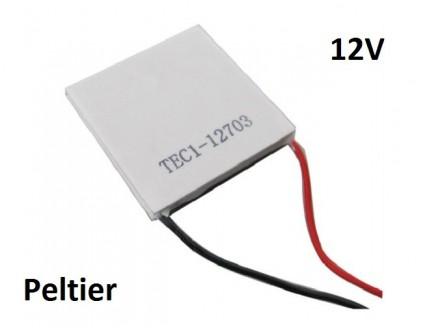 Termo ploca - Peltier za hladjenje i grejanje 12V 30W