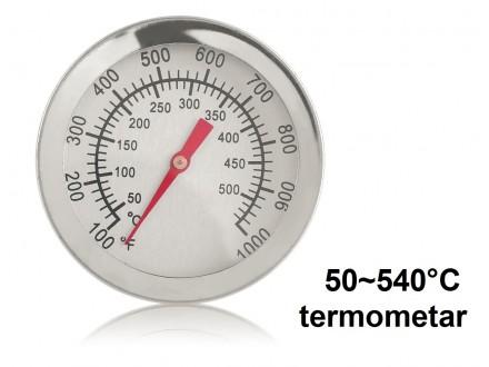 Termometar 50°C do +540°C (100~1000°F)