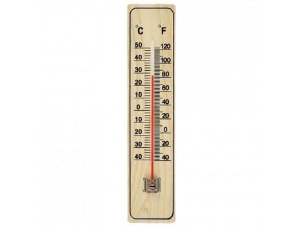 Termometar kućni - drveni