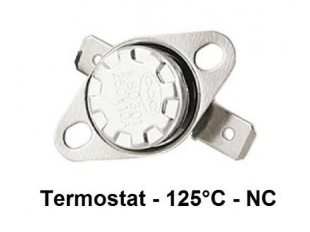 Termostat - 125°C - 10A - 250V - NC
