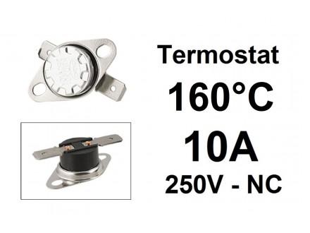 Termostat - 160°C - 10A - 250V - NC