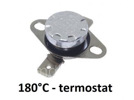 Termostat - 180°C - 10A - 250V - NC