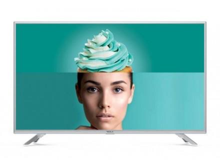 Tesla TV 32T303SHS, 32 TV LED, slim DLED, DVB-T/T2/C, HD Ready, Linux Smart, WiFi, silver
