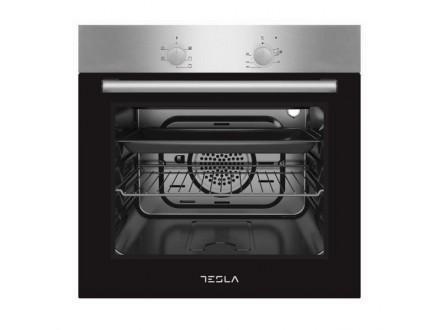 Tesla ugradna rerna BO300SX crna-inox