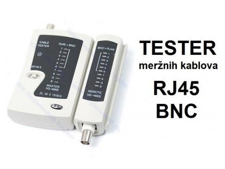 Tester mreznog RJ45 i BNC kabla