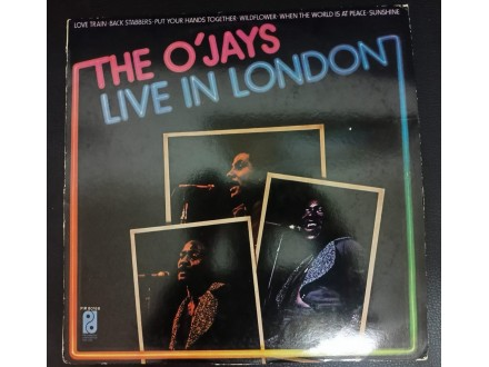 The O`Jays – The O`Jays Live In London LP (MINT,1974)