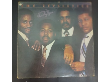 The Stylistics - Hurry Up This Way Again LP (PIR,1980)