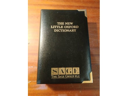 The new little Oxford dictionary