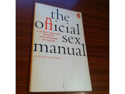 The offical sex manual Gerald Sussman