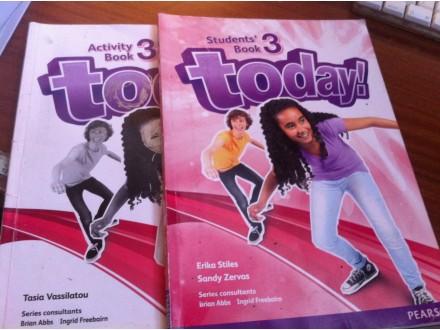 Today ! 3 knjiga + radna sveska