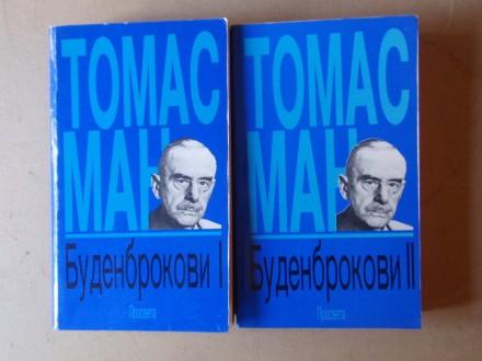 Tomas Man - BUDENBROKOVI  I - II