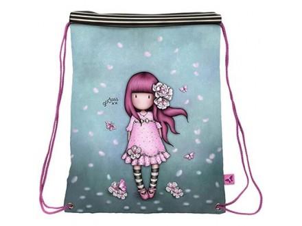 Torba - Drawstring Cherry Blossom - Gorjuss