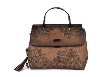 Torba - Kimmidoll, Short handle bag, brown - Kimmidoll