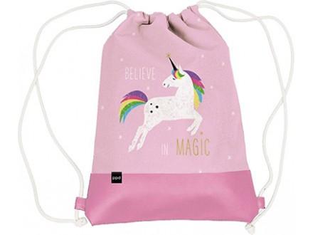 Torba - Leatherette Pink Unicorn