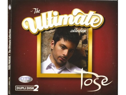 Tose Proeski - The Ultimate Collection  2 CD