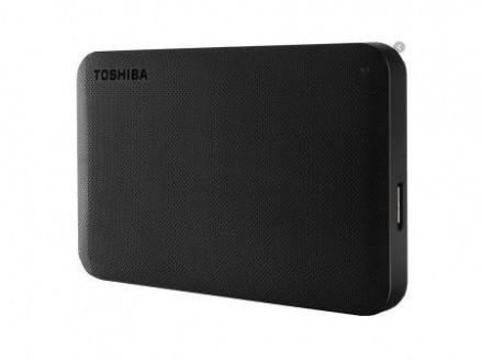 Toshiba HDD 1TB 2.5 USB 3.0 Canvio Ready Black eksterni HDTP210EK3AAH