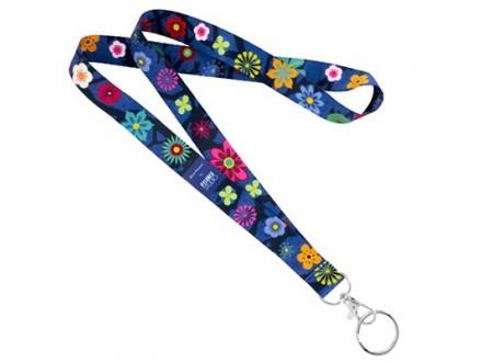 Traka/privezak - Blue Flower - Mode et accessoires