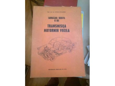 Transmisija motornih vozila - Saobraćajna sredstva III