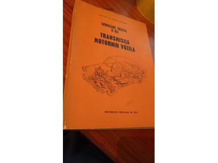 Transmisija motornih vozila saobraćajna sredstva III