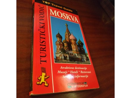 Turistički vodič Moskva