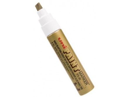 UNI marker PX-30 - zlatni