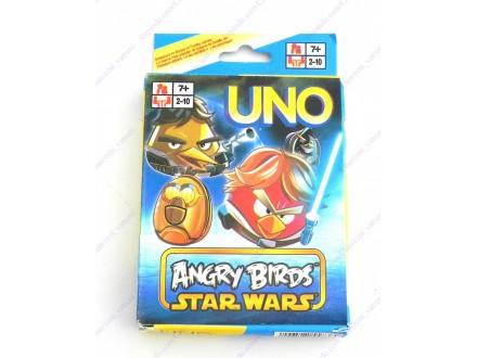 UNO karte Angry Birds - Star Wars