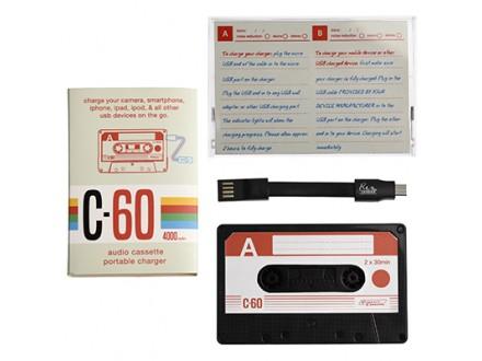 USB punjač - Cassette Tape